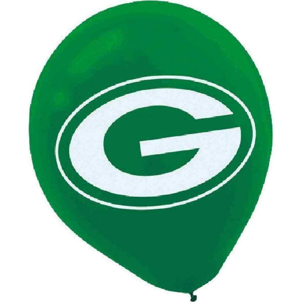 Green Bay Packers Nfl Football Sports Banquet Party Decoration Latex Balloons Ebay