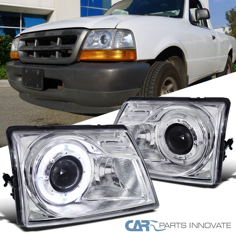 98 Ford Ranger Headlamp : Ford  ranger pickup truck projector headlights