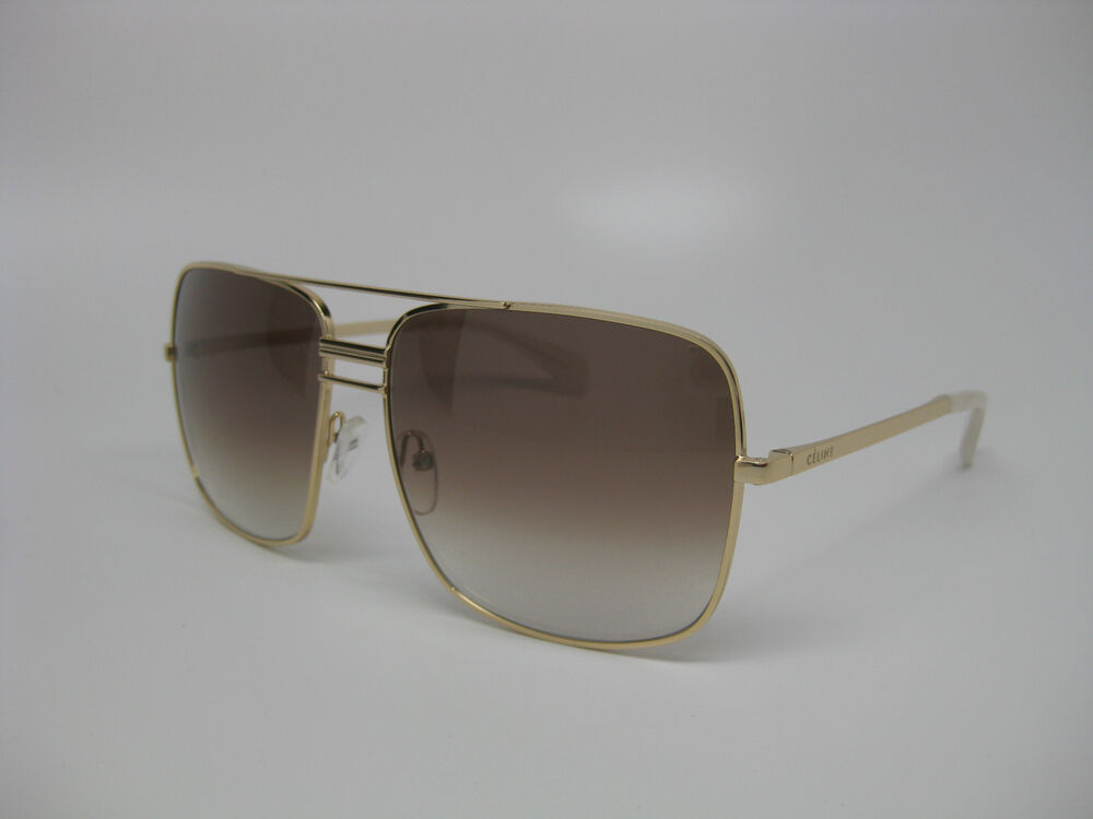 Gold Frame Celine Sunglasses : Celine 41808/S Sunglasses J5G Gold frame, XY Smoke Flash ...