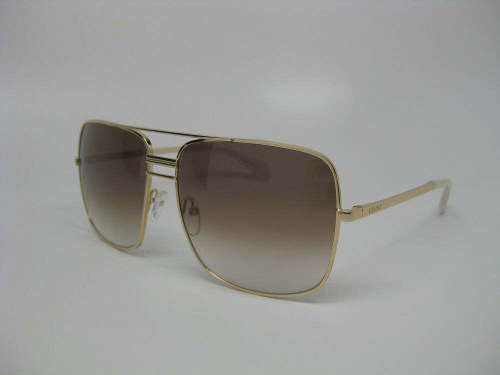 Celine Gold Frame Sunglasses : Celine 41808/S Sunglasses J5G Gold frame, XY Smoke Flash ...