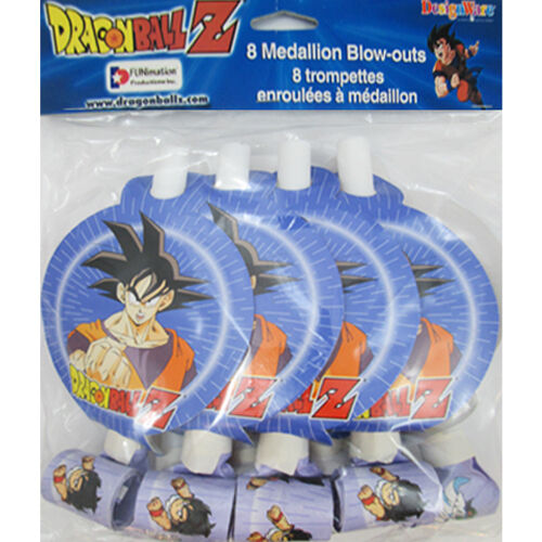 Amazing Dragon Ball Z Blowouts 8 Birthday Party Supplies Birthday Cards Printable Opercafe Filternl