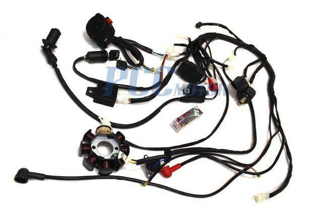150cc 200cc Wire Harness Wiring Cdi Assembly Atv Quad