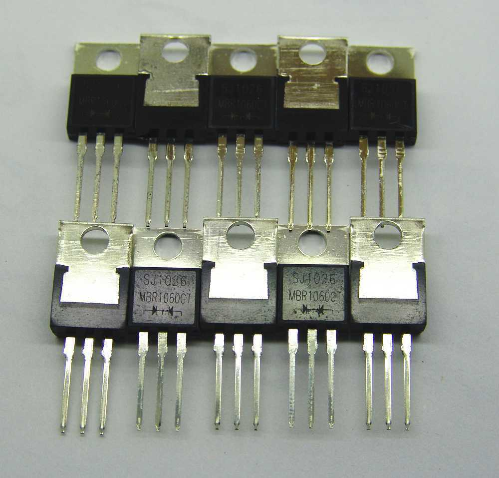 Schottky Diode Circuit 10 Amp Constant Current Load Measuringandtestcircuit Pcs Mbr1060ct 10a 60v To220 Rectifiers