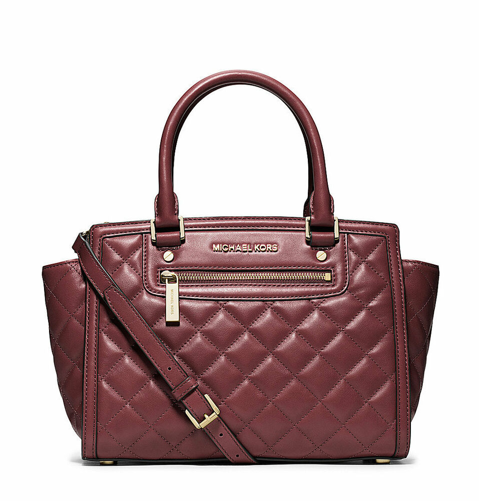 d3df1df9d63d Michael Kors Quilted Bag Selma | Stanford Center for Opportunity ...