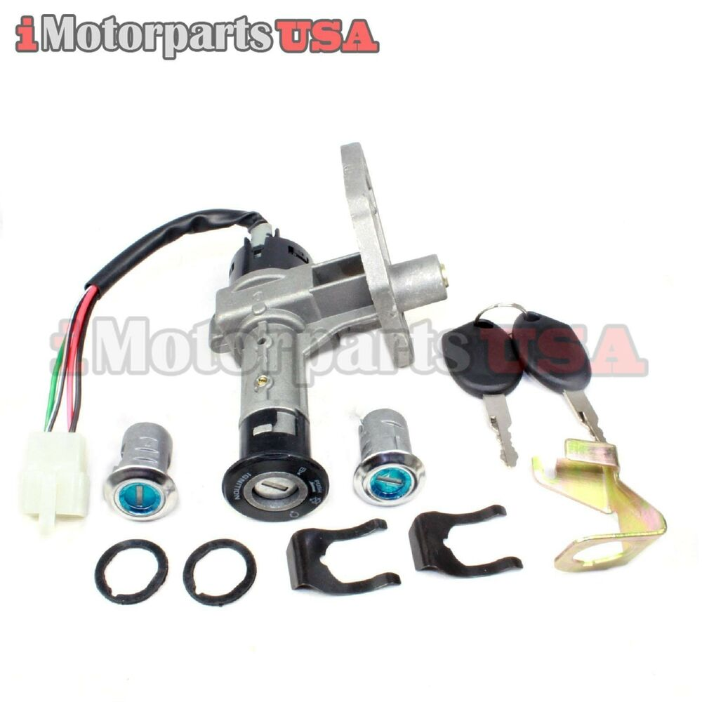 50cc scooter key switch wiring diagram lance milan znen ignition switch key lock set zn150t-f ...
