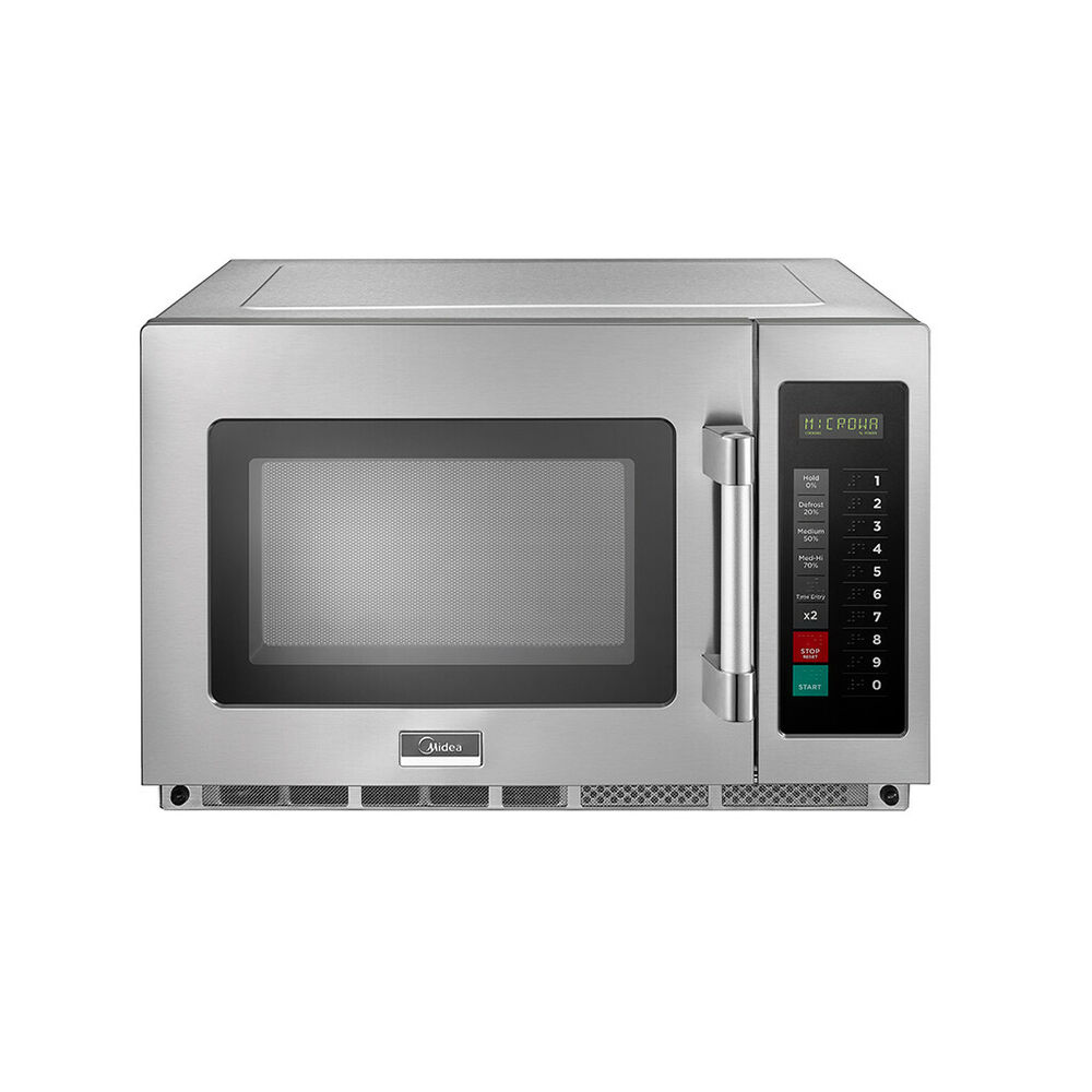 Quattro 1800w Programmable Commercial Microwave Flat Base Free P Ebay