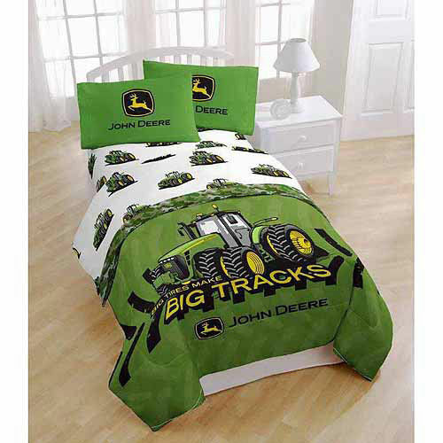 John Deere Tractor Boys Full Double Comforter Amp Sheet Set