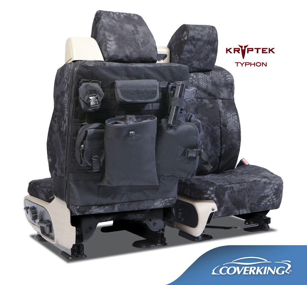 NEW Kryptek Typhon Camo Camouflage Seat Covers W Molle