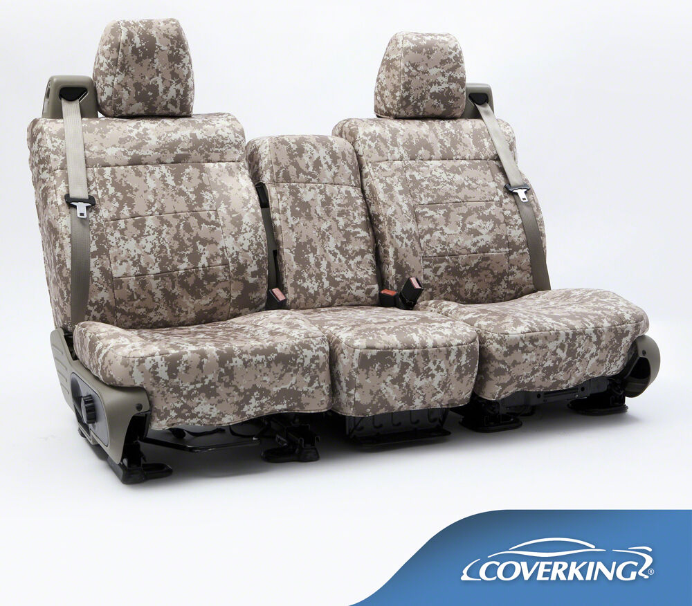 new full printed sand digital camo camouflage seat covers 5102042 28 ebay. Black Bedroom Furniture Sets. Home Design Ideas