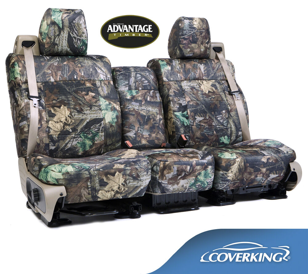 NEW Realtree Advantage Timber Camo Camouflage Seat Covers