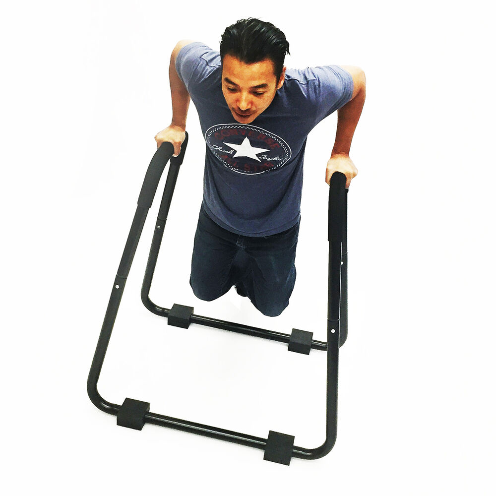 Station A Dips: Dip Station Stand Self Standing Exercise Dipping Machine