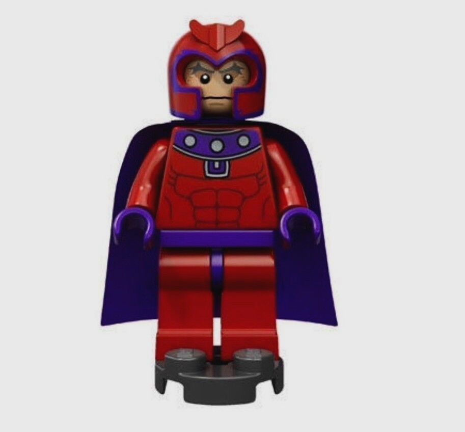 LEGO super heroes MAGNETO Mininfigure New from set 6866 ...