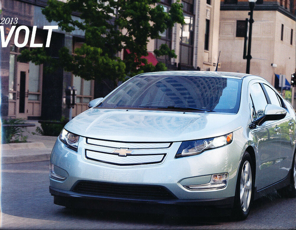 2013 chevrolet volt 32 page sales brochure catalog hybrid eelctric car chevy ebay. Black Bedroom Furniture Sets. Home Design Ideas