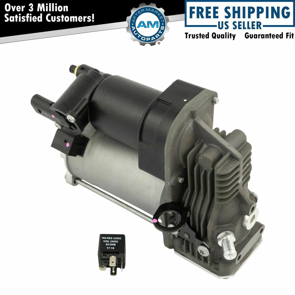 Arnott air ride suspension compressor for mercedes benz ebay for Air suspension compressor mercedes benz