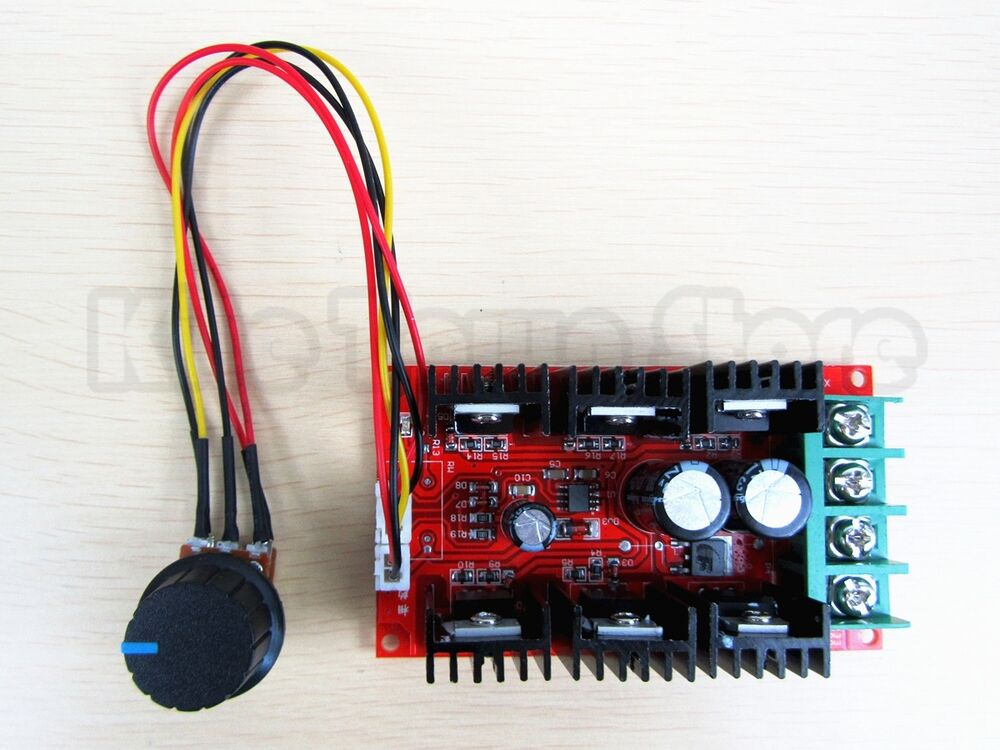 9 50v 40a dc motor speed control pwm hho rc controller 12v for Speed control electric motor