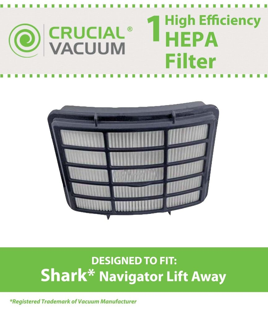 Hepa Filter Shark Navigator Lift Away Nv350 Nv351 Nv352