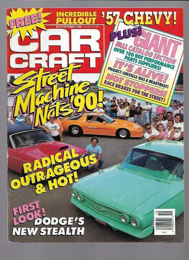 Car craft magazine october 1990 street machine nationals for Car craft magazine back issues