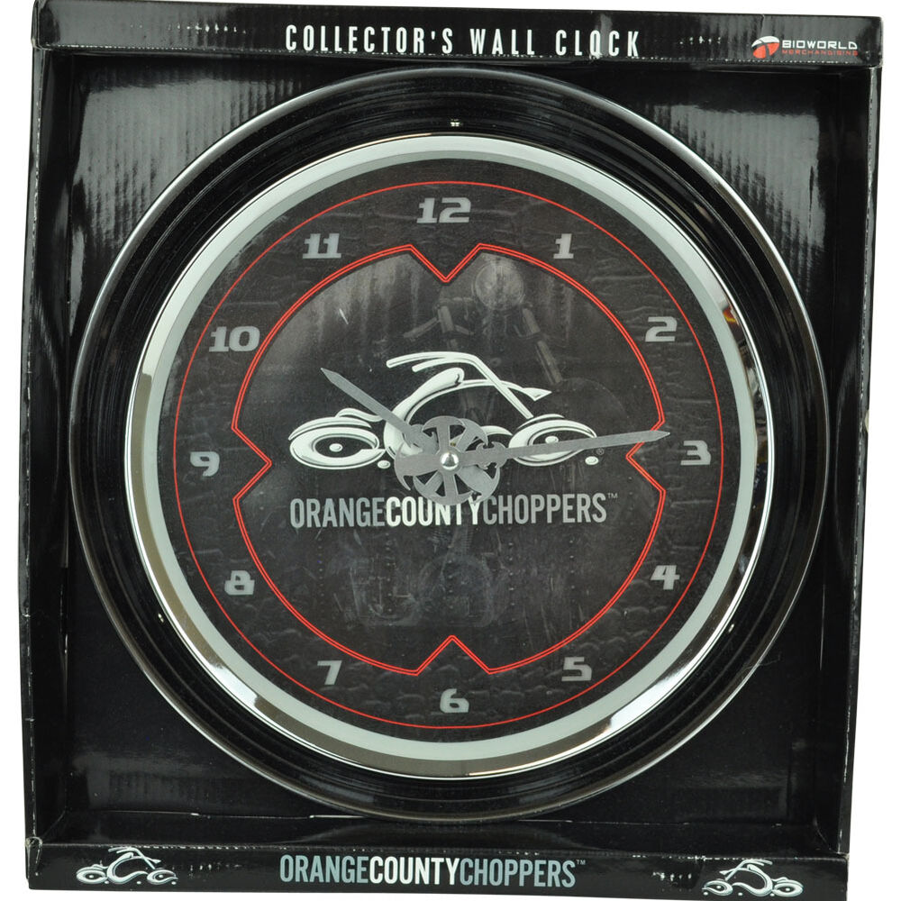 Bioworld Orange County Choppers Glass Motorcycle Wall