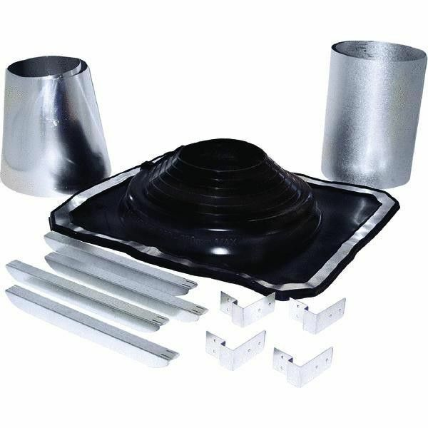 5 Quot To 8 Quot Galv Rubber Boot Metal Roof Chimney Stove Pipe