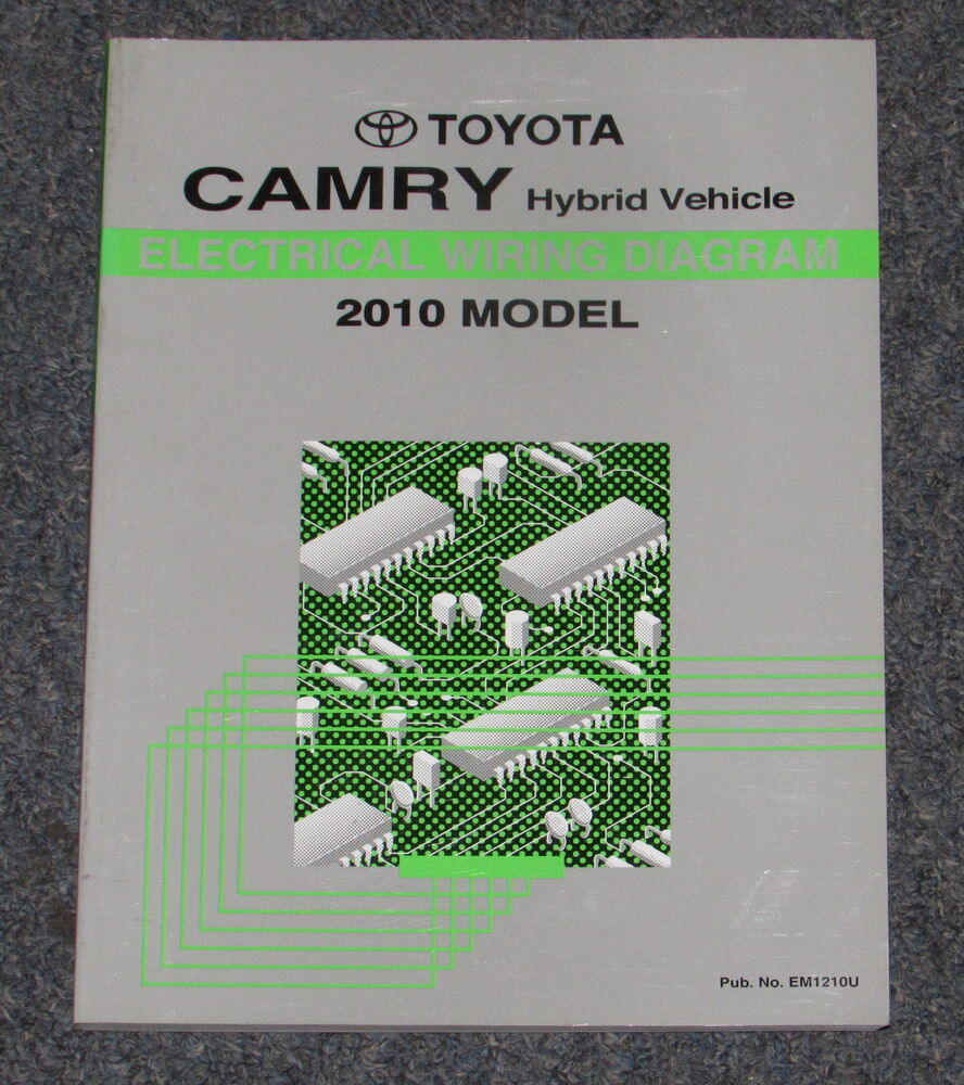 Wiring Diagram 2010 Toyota Camry Hybrid Library