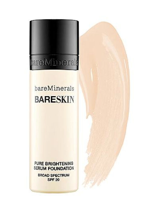 bareMinerals Bareskin Pure Brightening Serum Foundation BARE PORCELAIN 01-30ml  | eBay