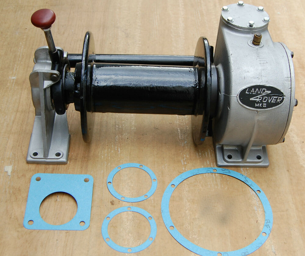 NEW Land Rover Series 1 2 3 Mk1 Mk2 Hydraulic PTO Drum