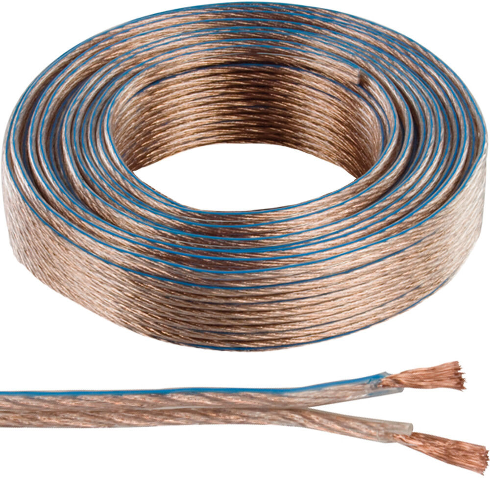 Automotive Cable 2 5 : M quality speaker cable mm awg wire reel drum amp