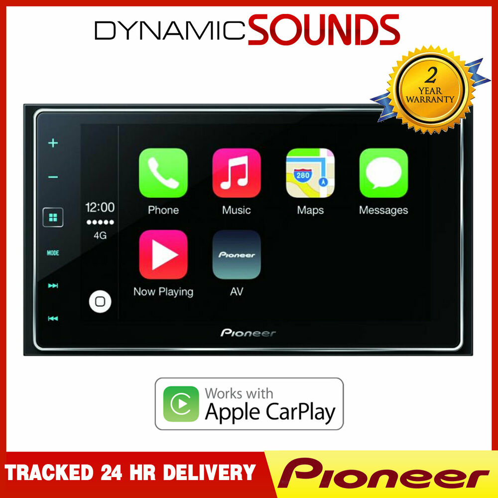 pioneer sph da120 carplay appradio touch screen gps. Black Bedroom Furniture Sets. Home Design Ideas