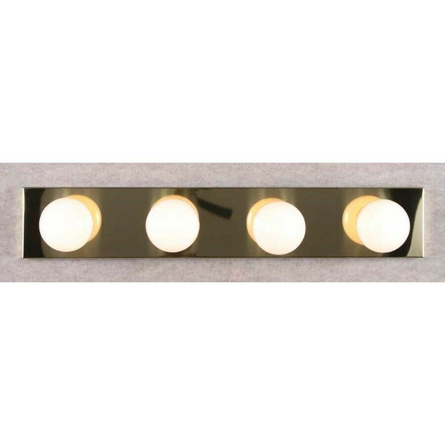 Bathroom Vanity Lights Polished Brass : Volume Lighting 4-Light Polished Brass Bathroom Vanity, Polished Brass - V1024-2 eBay
