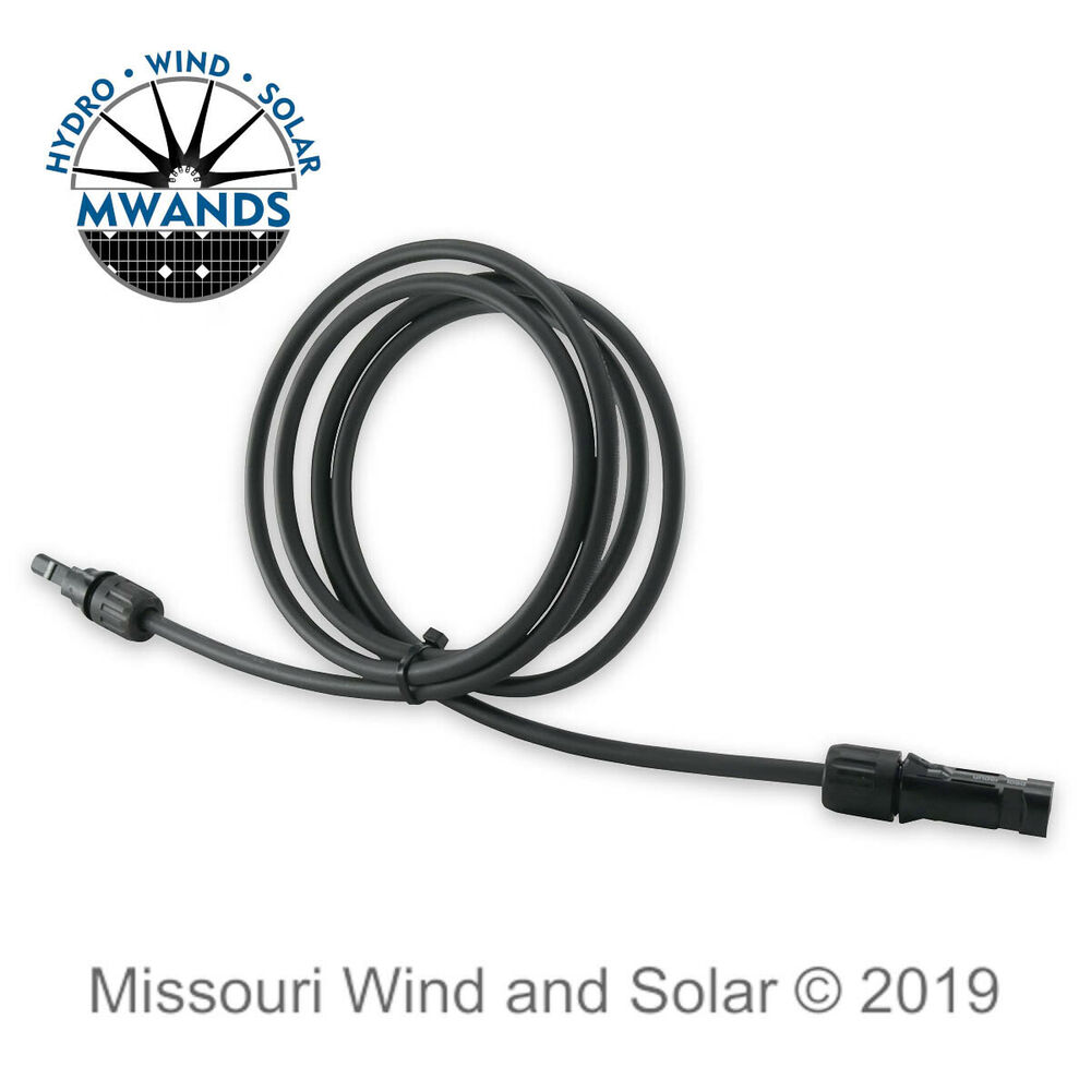 100 Feet Ul Solar Panel Extension Cable Wire Mc4