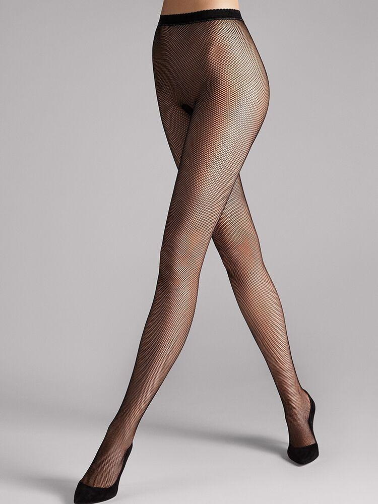 Wolford tights twenties tights fine fishnet tights honey for Fish net tights