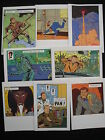 Lot Cartes Postales JACOBS Blake et Mortimer 2