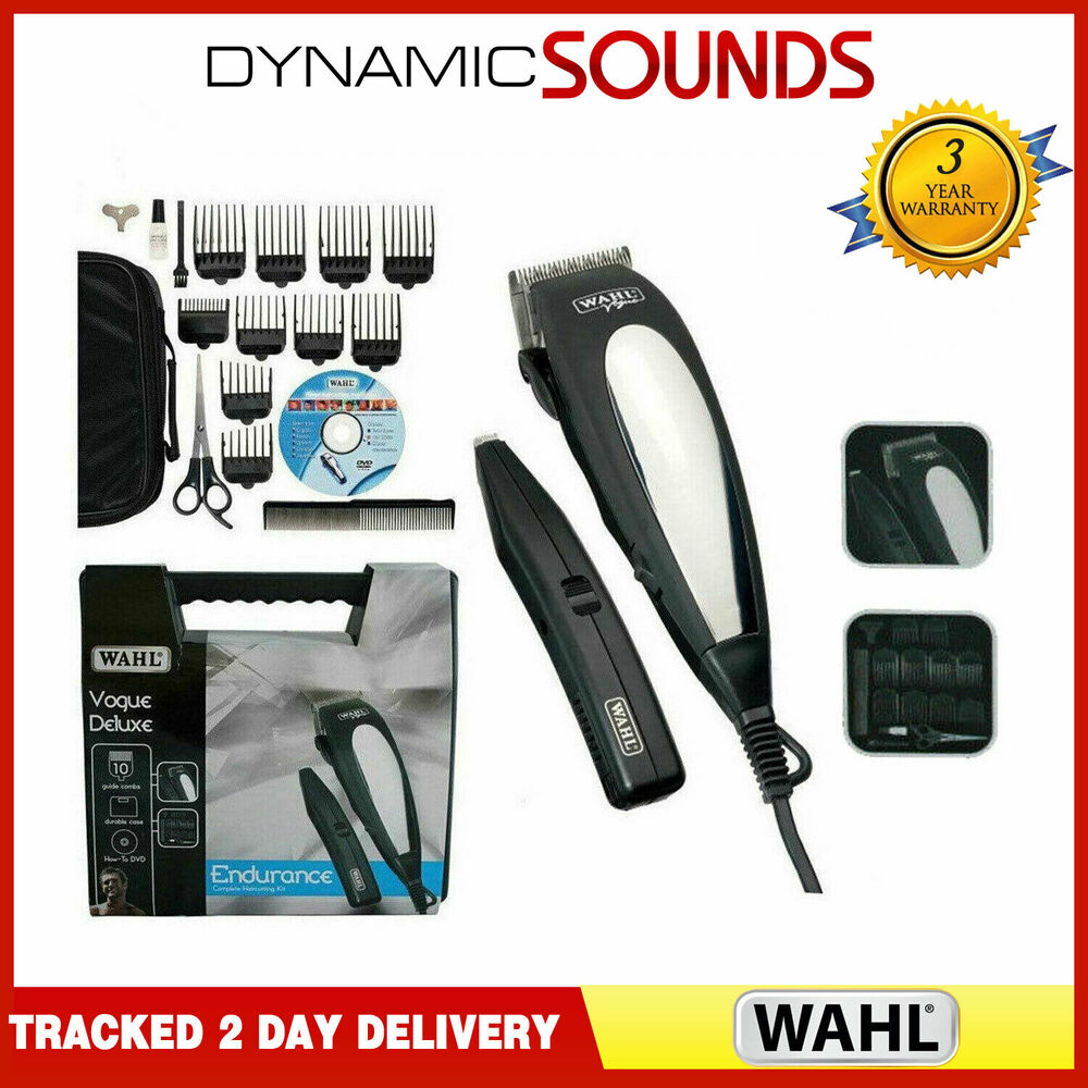 wahl delux gift set hair clipper beard trimmer complete haircutting machine kit 5037127005347. Black Bedroom Furniture Sets. Home Design Ideas