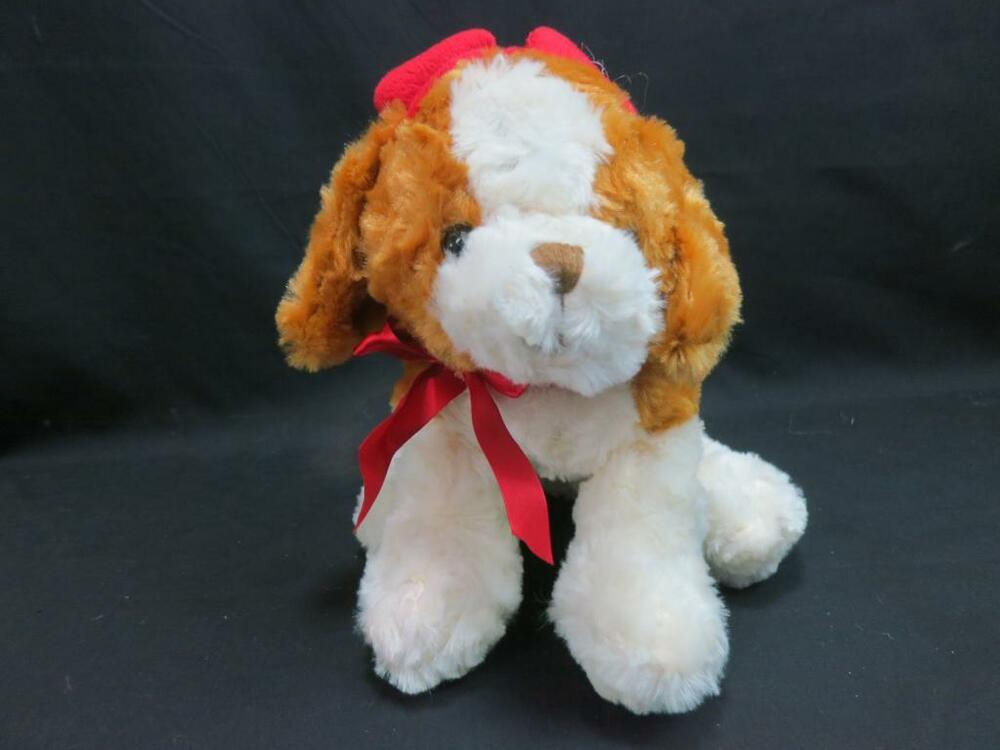 Dog Valentine Toys : Best made toys soft honey brown cream puppy dog girl
