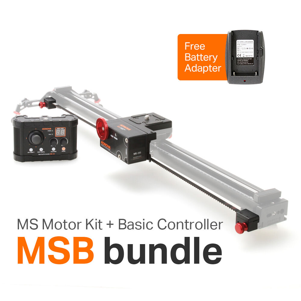 Konova ms kit basic controller msb for k2 slider Motorized video slider