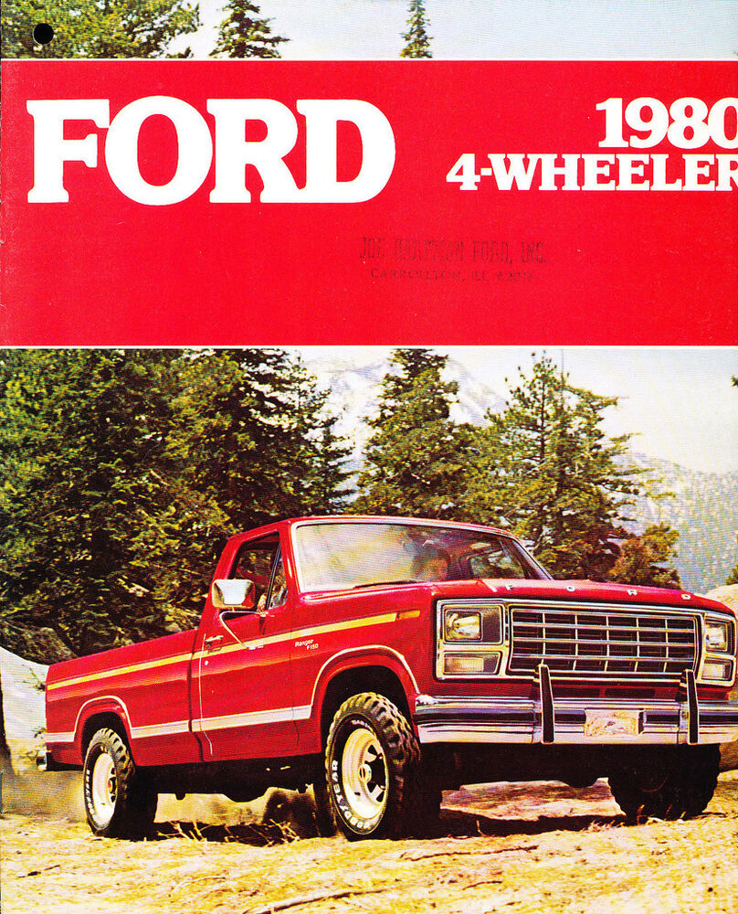 ford 1980 sumarize View ford motor company's current and past annual company reports.