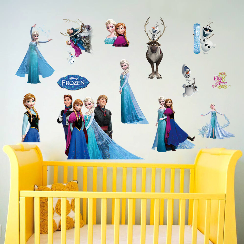 wall stickers tree design color the walls of your house disney frozen elsa anna wall stickers decal removable home decor kids