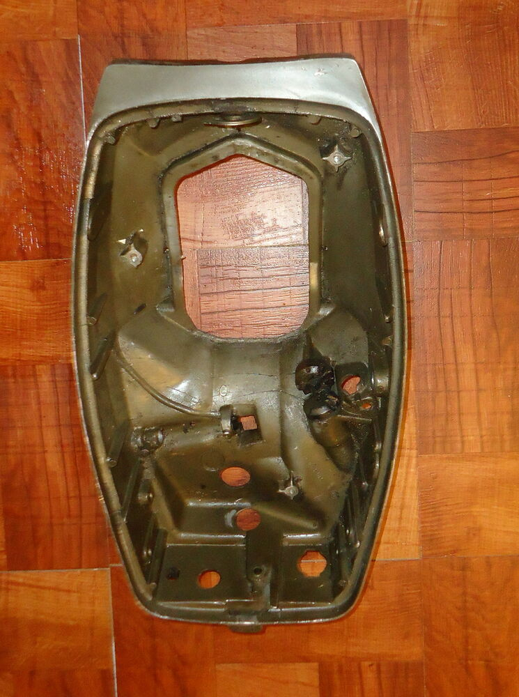 1976 9 9 omc johnson evinrude outboard lower motor cover for Boat motor covers johnson