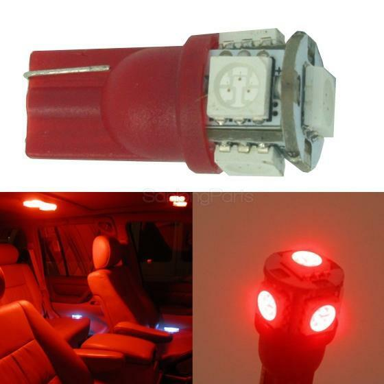 Red Led Light Interior Package For 2005 2016 Ford F 250 F