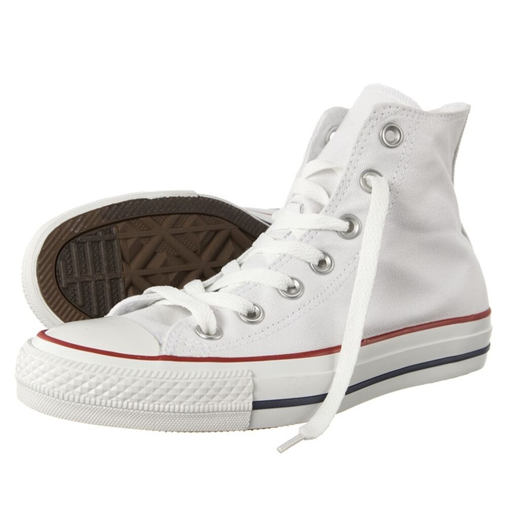 converse chuck taylor all star hi schuhe white wei chucks schuhe herren damen ebay. Black Bedroom Furniture Sets. Home Design Ideas