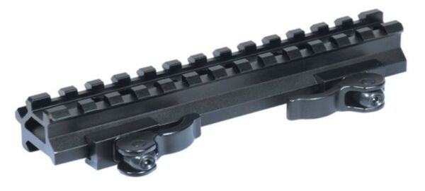 Leapers UTG QD Weaver Picatinny Double Rail 13 Slot Angle Mount Base - MAD13140