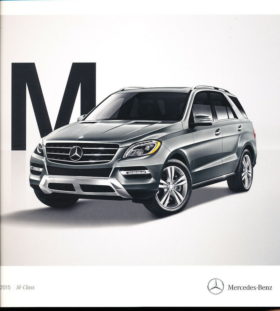 2015 mercedes benz m class 32 page car brochure ml250 for Mercedes benz ml350 2015