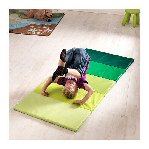 IKEA PLUFSIG FOLDING WORK OUT FITNESS GYM MAT GREEN BRAND NEW 902.789.27 | eBay