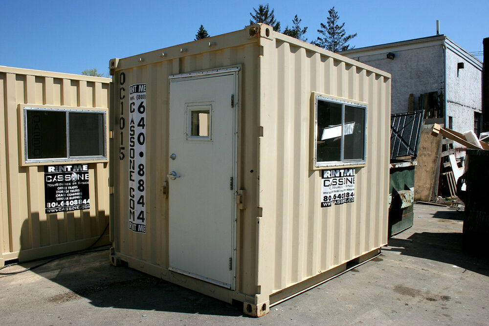 Shipping Container Trailer >> 8' x 10' Container Office - Model OC10 (New) | eBay