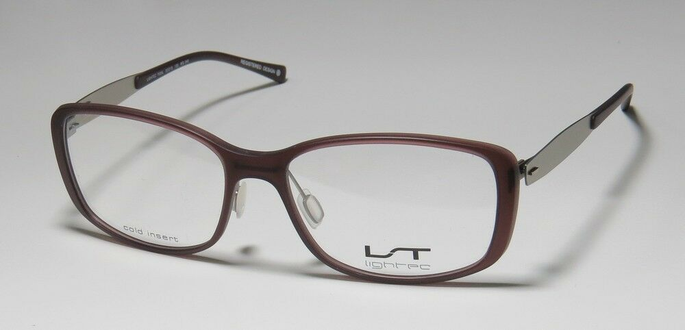 Eyeglass Frame Weight : NEW LIGHTEC 7035L FLEXIBLE TEMPLES LIGHT WEIGHT HIGH-END ...