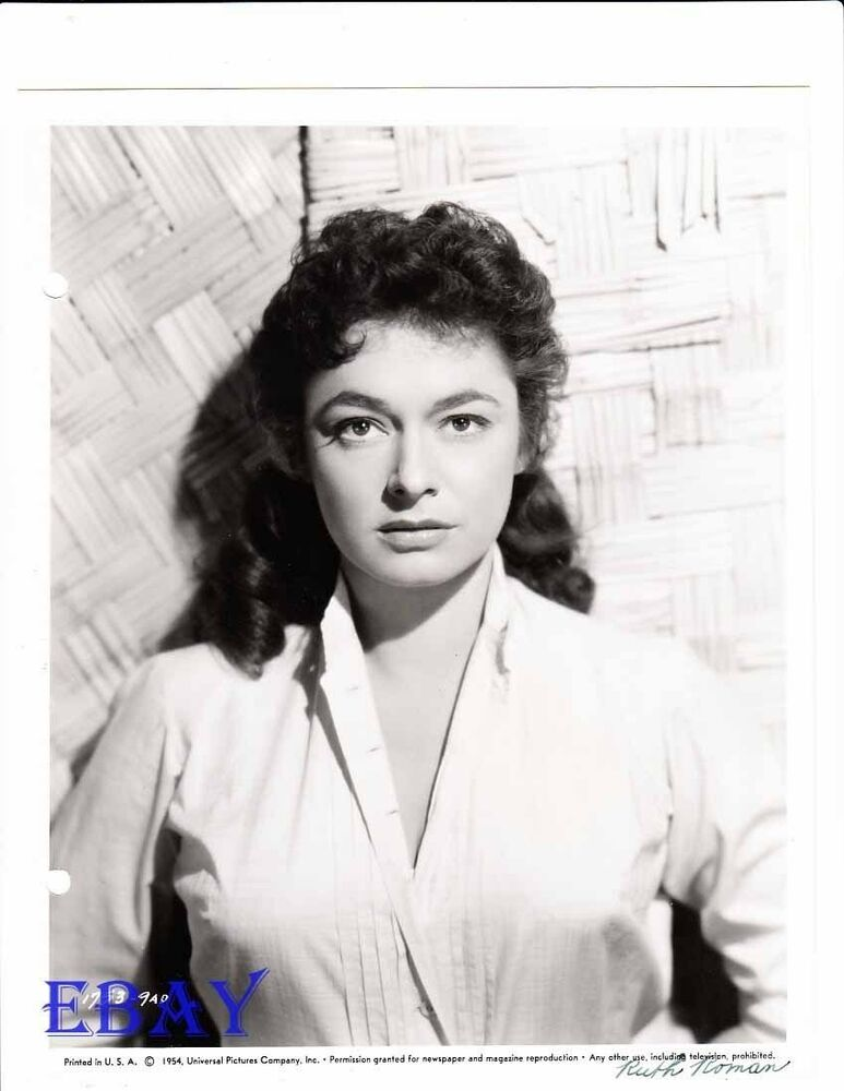 Ruth Roman Of Many Movies She Was In Strangers On A: Ruth Roman Busty VINTAGE Photo Circa 1954