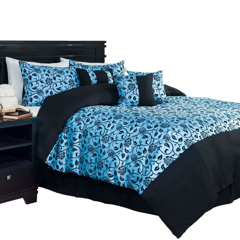 Damask King Bed Skirt