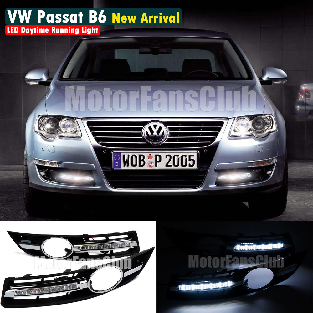 led daytime running light for vw volkswagen passat b6 drl. Black Bedroom Furniture Sets. Home Design Ideas