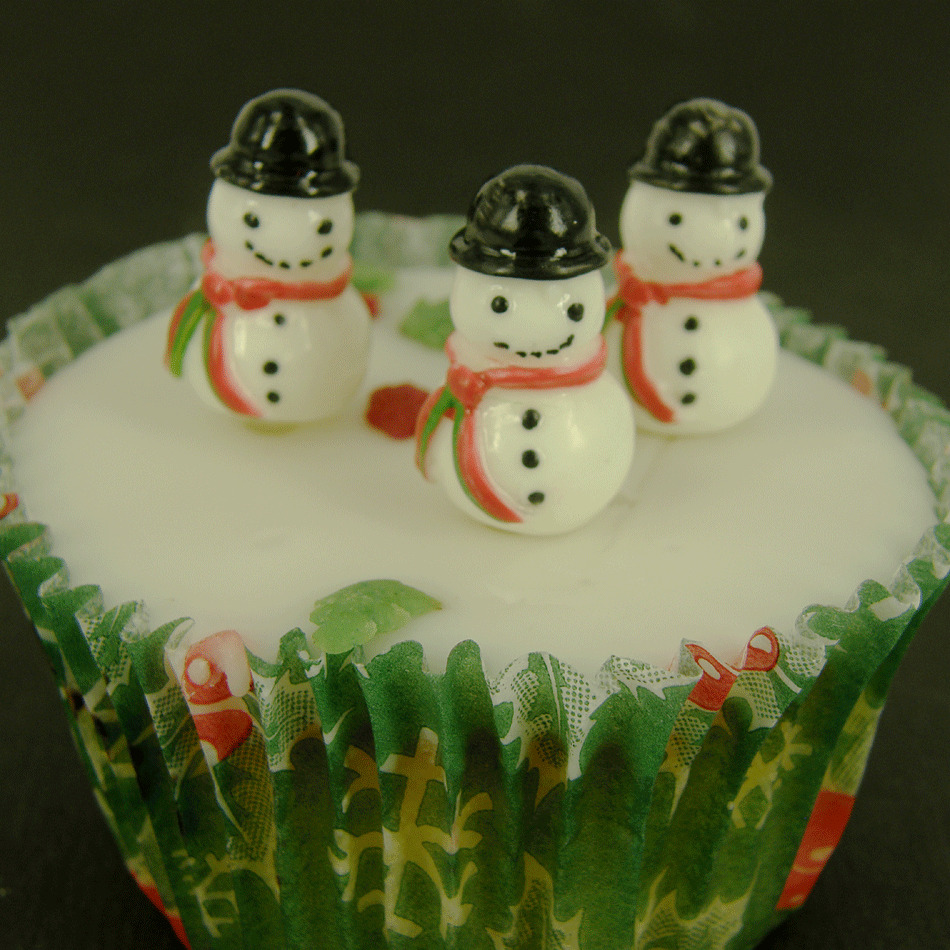 Plastic Cake Decorations For Christmas : 6xSNOWMAN SNOWMEN Plastic Cupcake Topper Christmas Cake ...