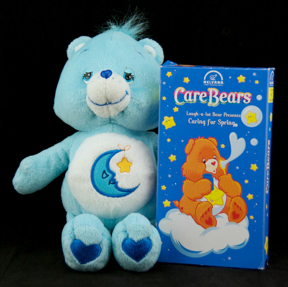 "Care Bears Bedtime Bear 8"" Plush Stuffed Animal Toy with ..."